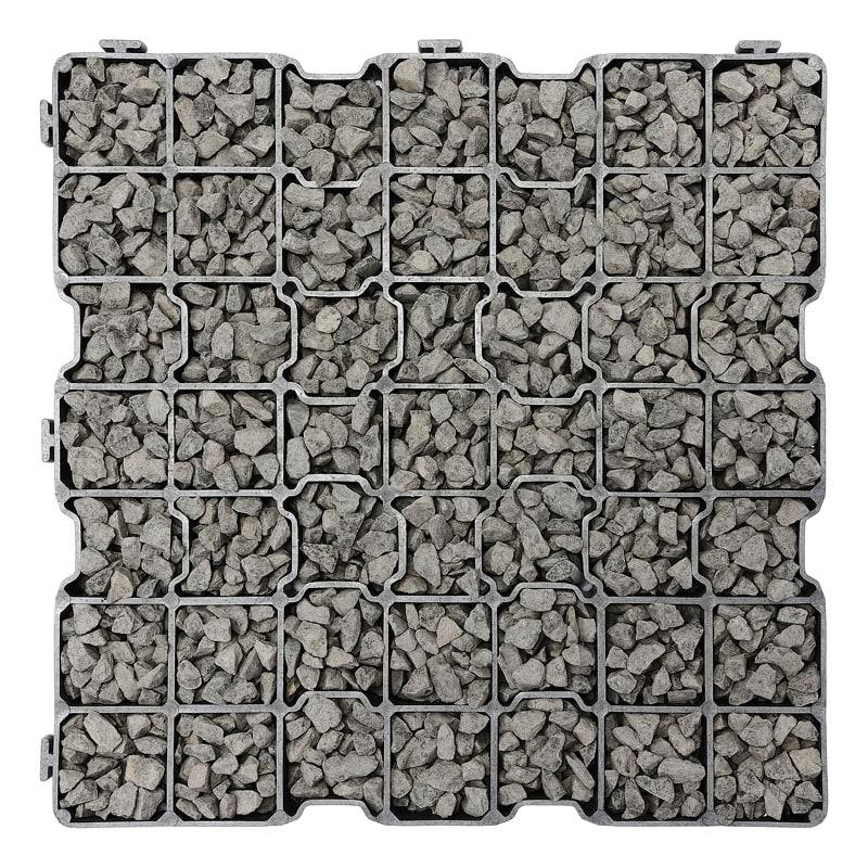Kratka ażurowa G3max wypełnienie bazalt