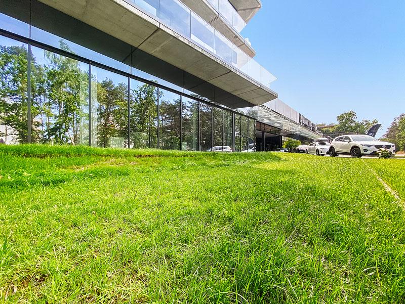zielony parking hotelowy geoSYSTEM